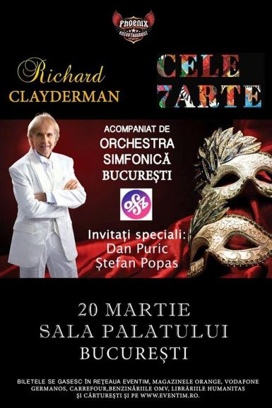 poze concert richard clayderman