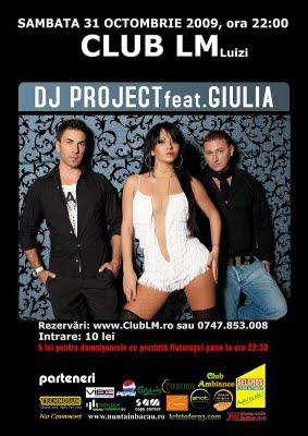 poze dj project feat giulia