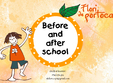before si after school flori de portocal