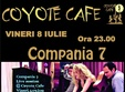 concert compania 7 in coyote cafe