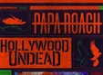concert papa roach i hollywood undead