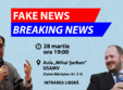 conferin a fake news breaking news