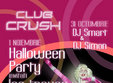 halloween party in club hush
