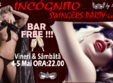 incognito swingers party in masks