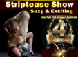 sexy exciting striptease show