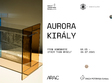 solo show aurora kiraly from somewhere other than myself
