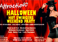 swingers halloween weekend party in attraction club