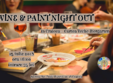 wine paint night out in craiova